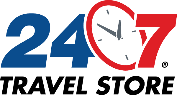 24-7 Travel Store Logo