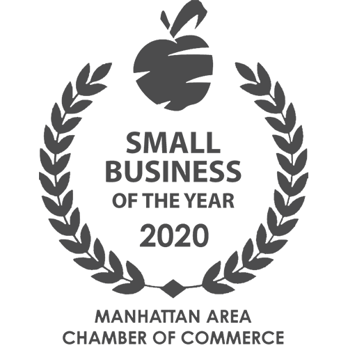 Middle wins Manhattan Area Chamber of Commerce Small Business of the Year in 2020