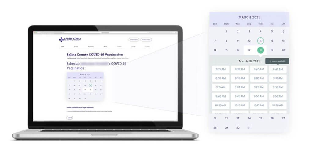 SFHC Vaccine Scheduling Tool